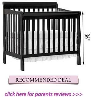 Best mini convertible crib for short moms
