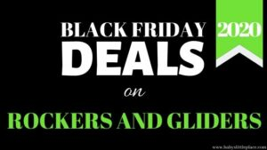 Black Friday nursery rockers and gliders sales in 2020
