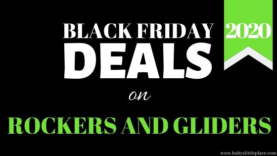 Black Friday nursery chair deals [2020 Black Friday sales on nursery rockers, gliders, recliners]