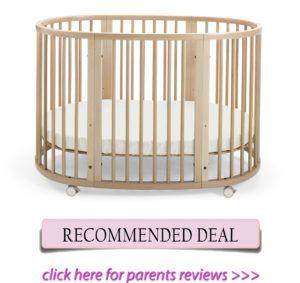 Stokke Sleepi oval crib for short moms