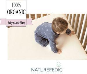 Naturepedic 100% organic breathable baby crib mattress