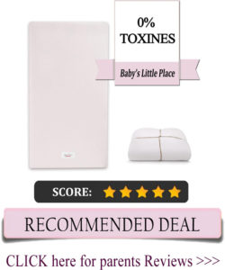 Pure Core non-toxic crib mattress with Hybrid Waterproof Cover