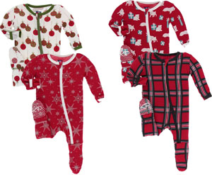 Best Baby First Christmas Pajamas: Pants' Christmas Footies