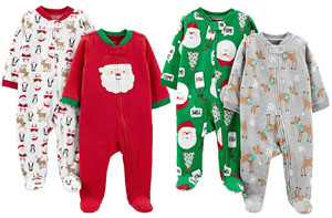 Best Baby First Christmas Pajamas: Simple Joys by Carters
