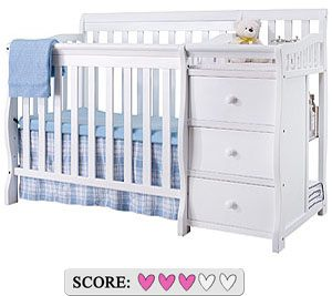 Sorelle Newport mini convertible crib with changer - Review