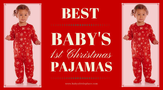 The-Best-Baby-1st-Christmas-Pajamas