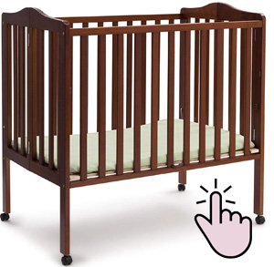 Best mini portable crib under $100