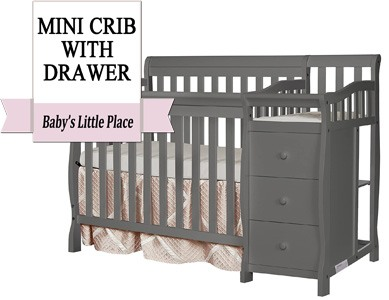 Best Mini Combo Crib for Small Spaces: Dream On Me Jayden