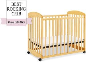 The best mini rocking crib: DaVinci Alpha