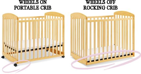 Best recking mini crib: DaVinci Alpha