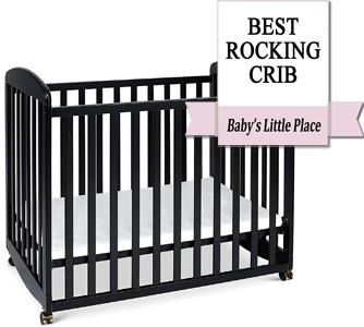 Unique Mini Crib for Small Spaces: DaVinci Alpha
