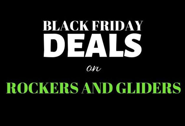 Black Friday Nursery Rockers and Gliders Deals