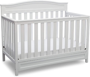 Delta Children Emery 4-in-1 Convertible Crib