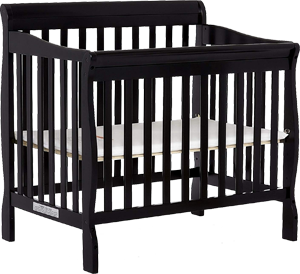 Dream On Me Aden, a safe mini convertible crib