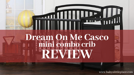 Dream On Me Casco mini crib with changer