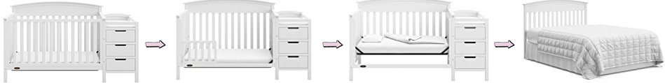 Graco Benton 4-in-1 Convertible Crib and Changer