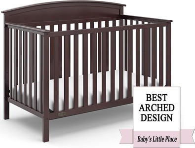 Best Convertible Crib with Arched Design