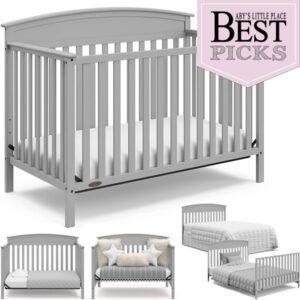Best Convertible Cribs | Bell Shaped Top
