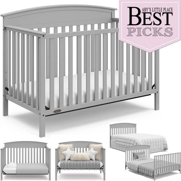 Best Convertible Cribs   Bell Shaped Top