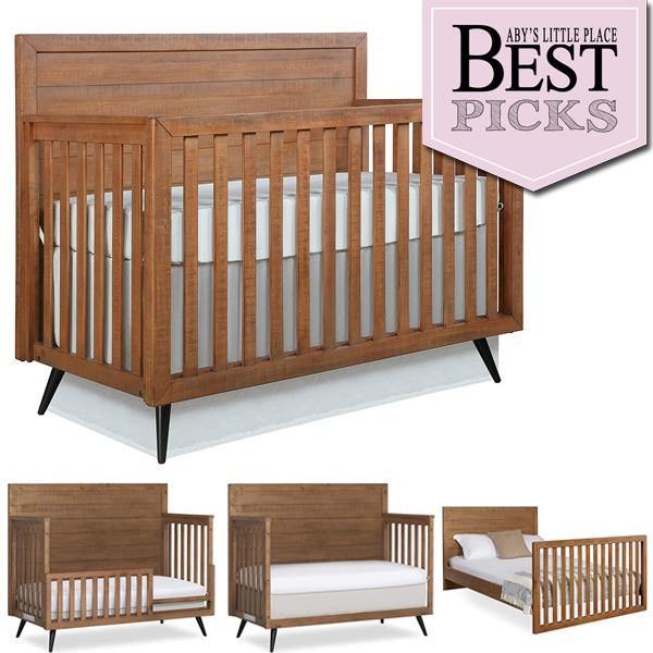 Best Convertible Cribs: Mid-Century Charm