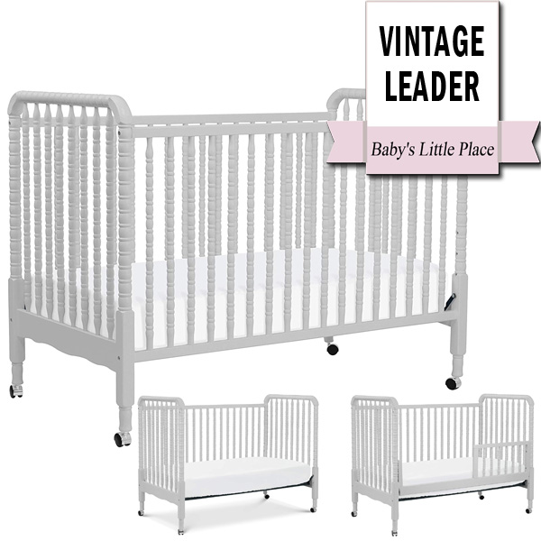 Best Convertible Cribs   Top-Rated Vintage Design