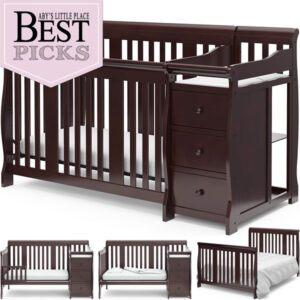 Best Convertible Cribs | Best Crib + Changer