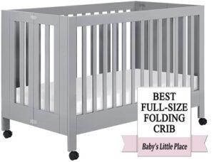 Best Folding Convertible Crib: