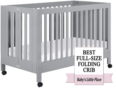 Best Folding Convertible Crib: