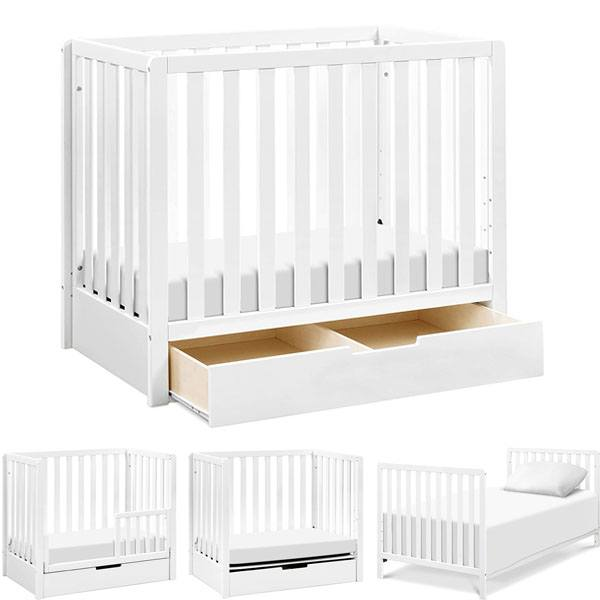 Best Mini Cribs For Small Spaces | Best with Storage
