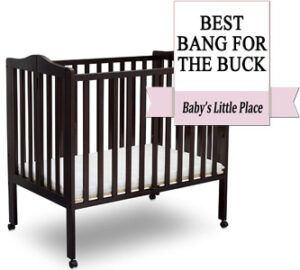 Most Affordable Mini Crib for Small Spaces: Delta Children
