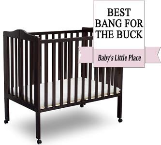 Most Affordable Mini Crib for Small Spaces: Delta Children