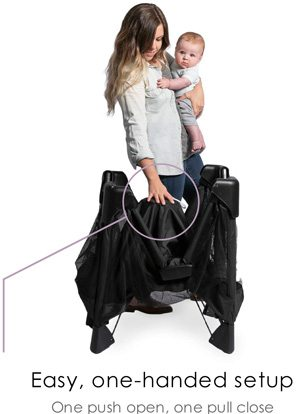 4moms Breeze Plus Playard's Folding System Review