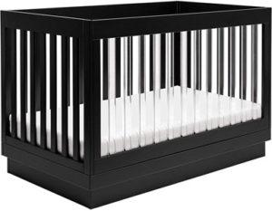 Babyletto Harlow Acrylic 3-in-1 Convertible Crib