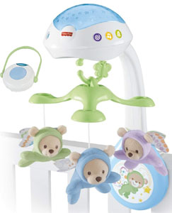 Fisher-Price Butterfly Dreams 3-in-1 Projection Mobile with remote control