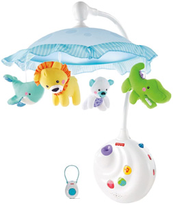 Fisher-Price Precious Planet 2-in-1 Projection Mobile with remote control