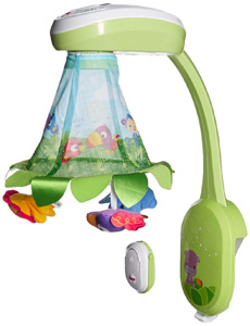 Fisher-Price Rainforest Grow-with-Me Projection Mobile with remote control