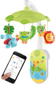 Fisher-Price SmartConnect 2-in-1 Projection Mobile