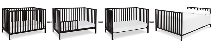 Union 4-in-1 convertible crib Review