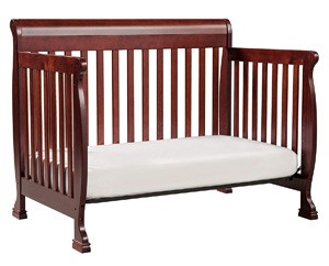 What is a convertible baby crib?