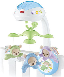 Best baby crib mobiles: best remote controlled mobile_Fisher-Price Butterfly dreams 3-in-1 projection mobile