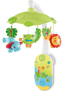 Best baby crib mobiles_best bluetooth mobile: Fisher-Price Smart Connect 2-in-1 Projection Mobile