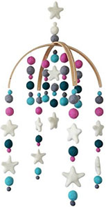 Best baby crib mobiles: best wind operated mobiles_Tik Tak Design Co. Baby Crib Mobile