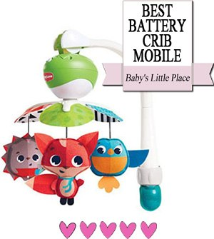 The Best Crib Mobiles - Best battery-operated crib mobile