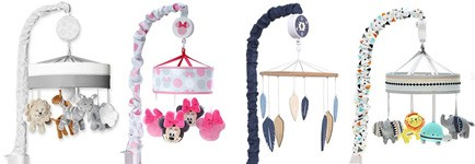 Best wind-up crib mobiles
