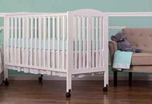 Dream On Me Full Size 2 Position Folding Stationary Side Crib