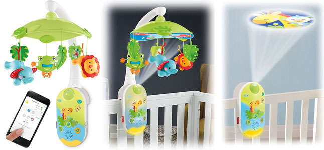 Fisher-Price smart connect mobile review