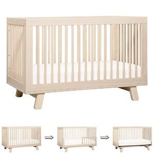 Different Types of Baby Cribs: 3-in-1 convertible crib