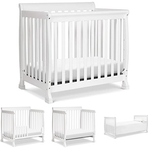 Different Types of Cribs: Mini convertible crib