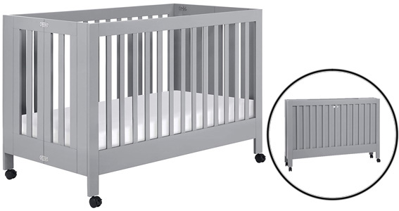 Different types of baby cribs: Portable Crib