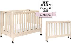 Best portable cribs - Babyletto Maki
